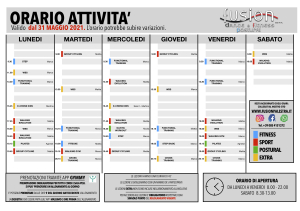 ORARIO CORSI 2020 - 2021 Dal 31 MAg 2021 jpeg