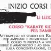 INIZIO CORSO KARATE SLIDE