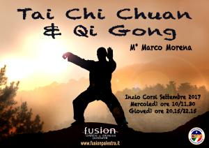 Stock Illustration of Tai Chi on Mountain